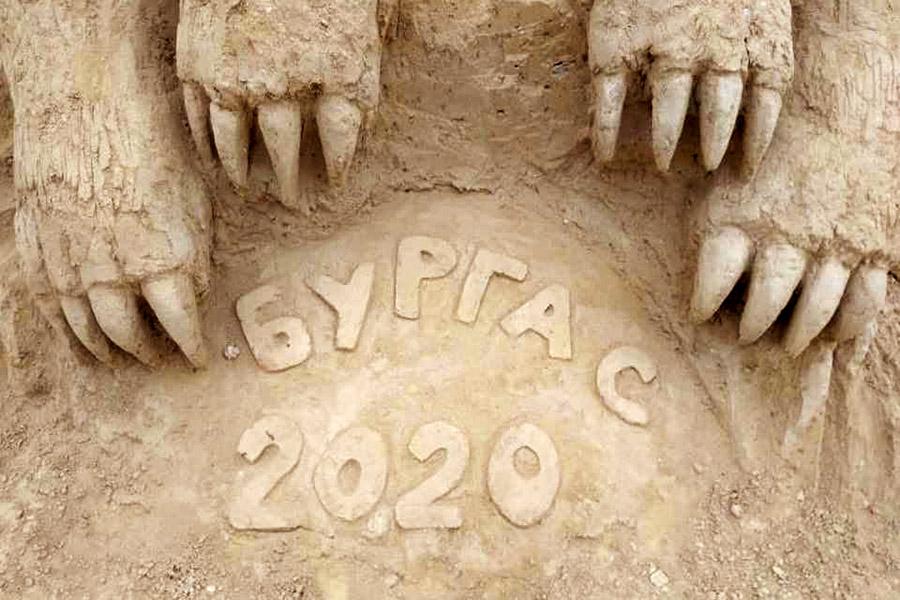 Пясъчни скулптури в Бургас-1