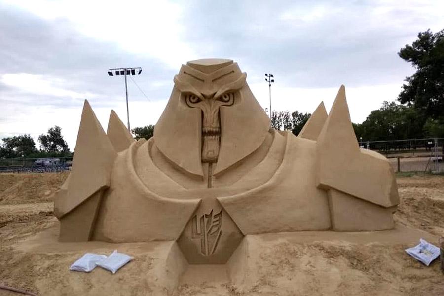 Пясъчни скулптури в Бургас-3