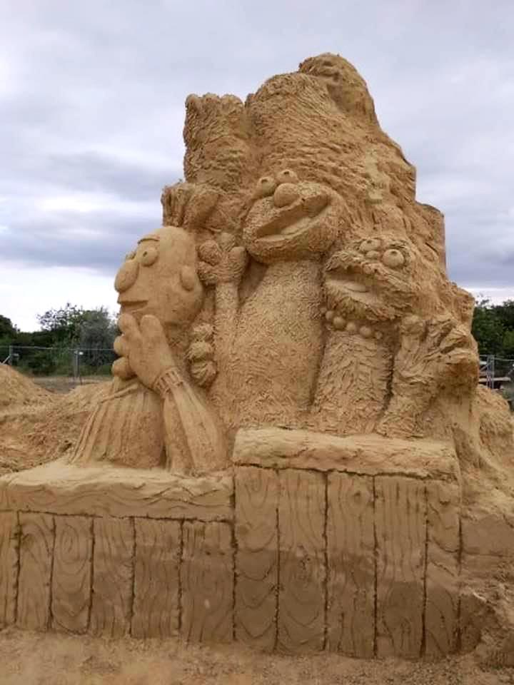 Пясъчни скулптури в Бургас-5