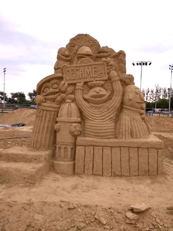 Пясъчни скулптури в Бургас-6