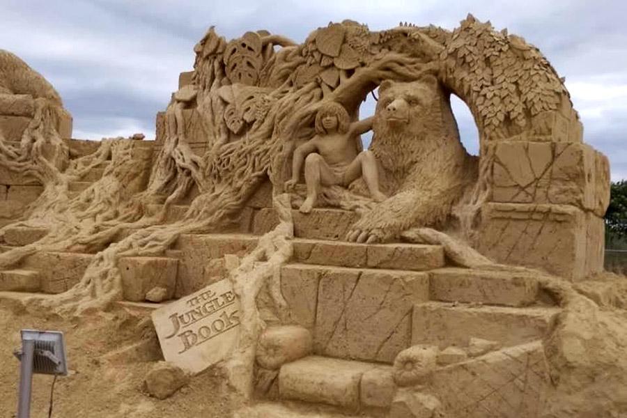 Пясъчни скулптури в Бургас-7