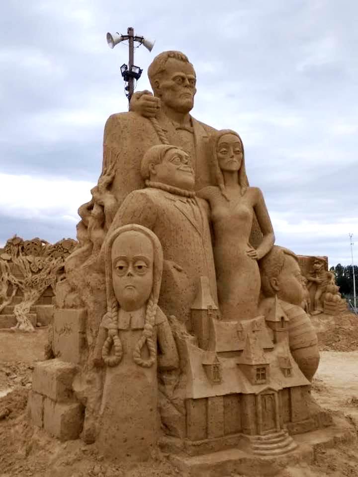 Пясъчни скулптури в Бургас-10
