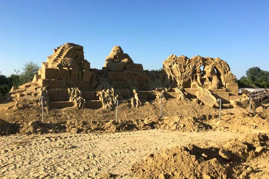 Пясъчни скулптури в Бургас-12
