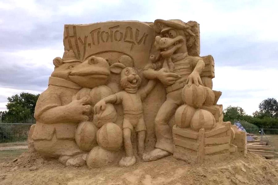 Пясъчни скулптури в Бургас-13